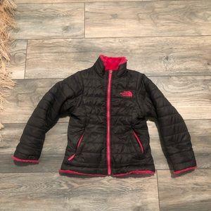 North Face Puffer Reversible Jacket Girls XXs sz 5